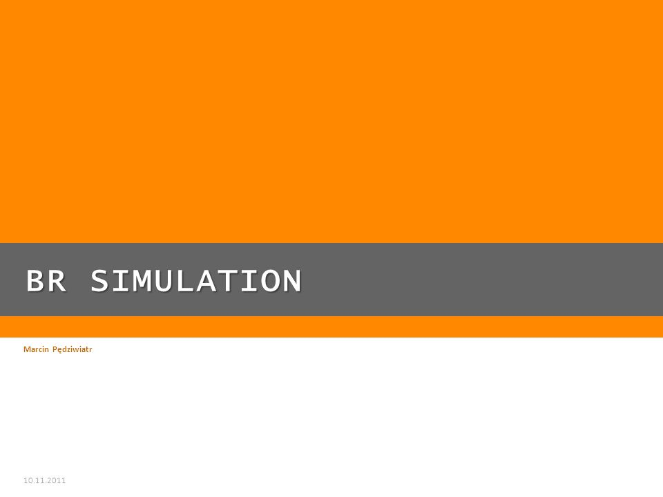 PLAN PREZENTACJI Plan prezentacji: BR Simulation z zewnątrz Moduły sterownika do BR Simulation Sterowanie BR Simulation z Automation Studio