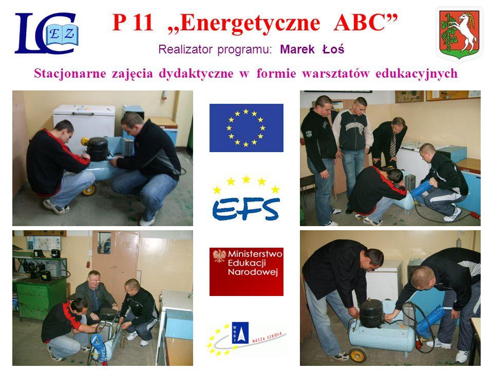 P 11,,Energetyczne ABC Realizator programu: Marek Łoś Wycieczka edukacyjna do ELEKTROCIEPŁOWNI LUBLIN - WROTKÓW