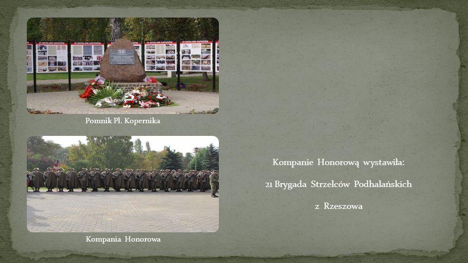 Zastępca Dowódcy 21 BSP płk Wojciech Marchwica Prezydent Miasta Tczewa Mirosław Pobłocki, Dowódca 21 BSP gen.