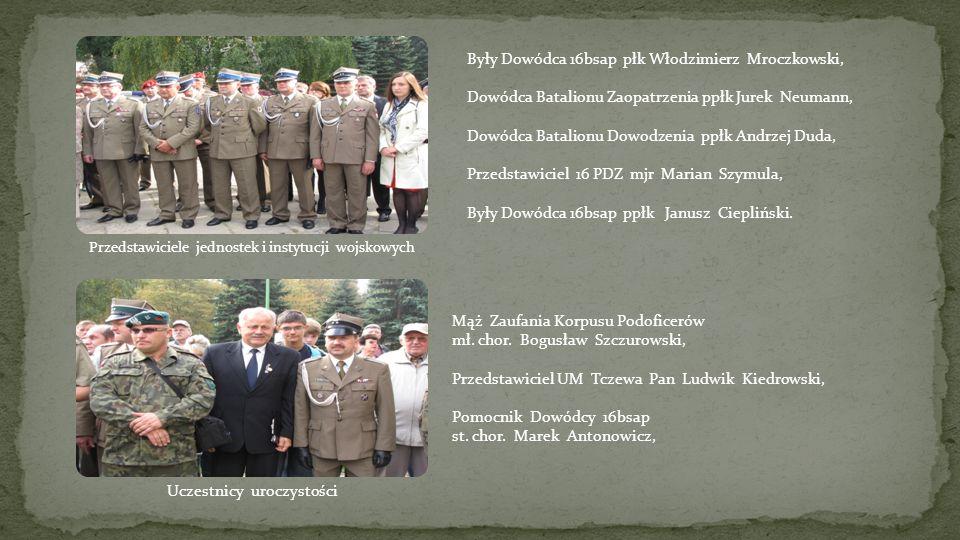 Prezydent Miasta Tczewa Mirosław Pobłocki, Dowódca 21 BSP gen.