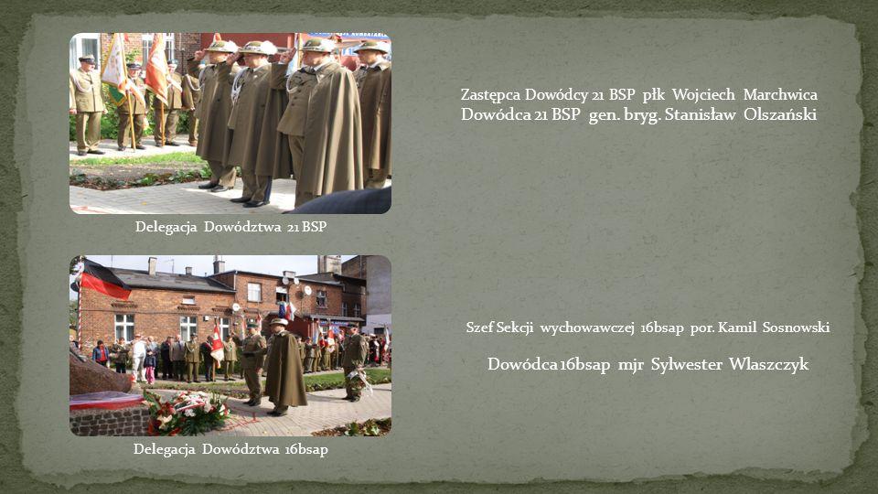 płk Włodzimierz Mroczkowski, płk Tomasz Hak. por. w stanie spocz. Bolesław Dembek