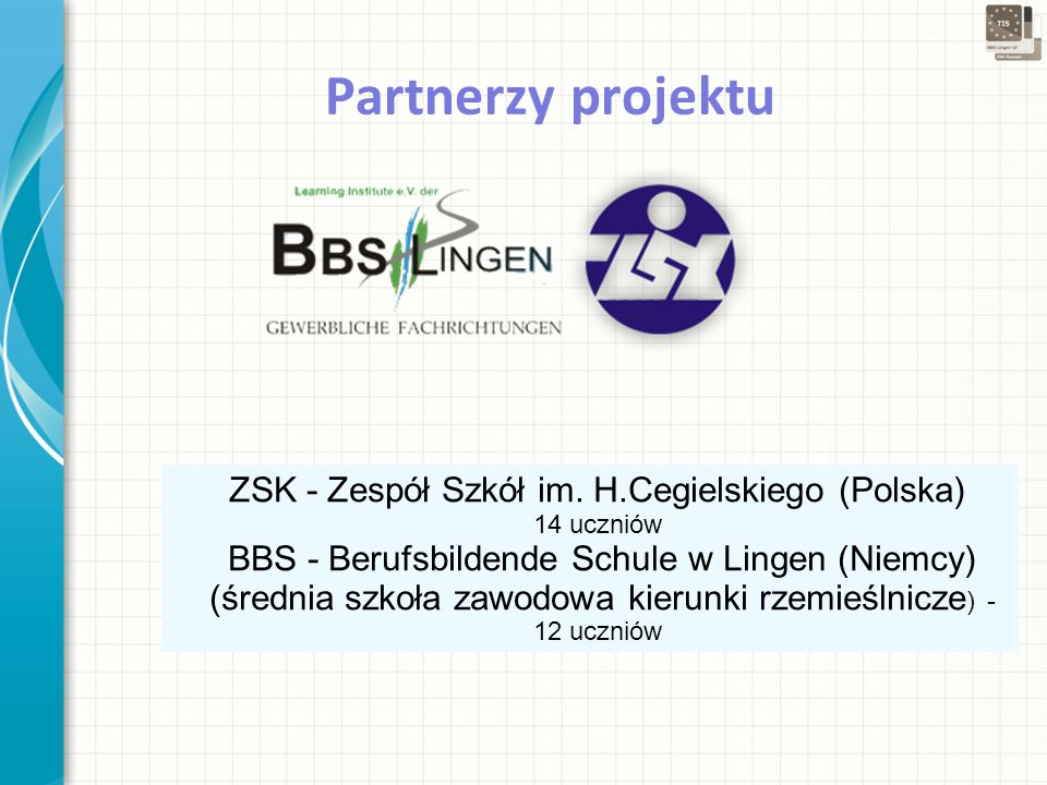 12-4-1212-4-12 Partnerzy projektu ZSK - Zespół Szkół im.