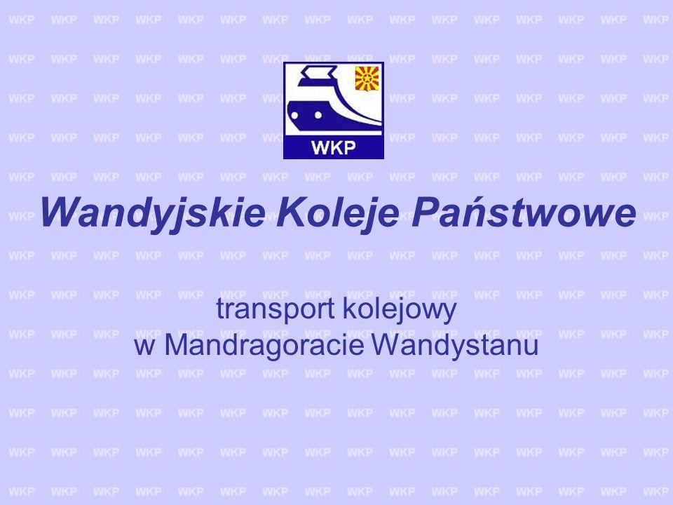 Wandyjskie Koleje Państwowe transport kolejowy w Mandragoracie Wandystanu