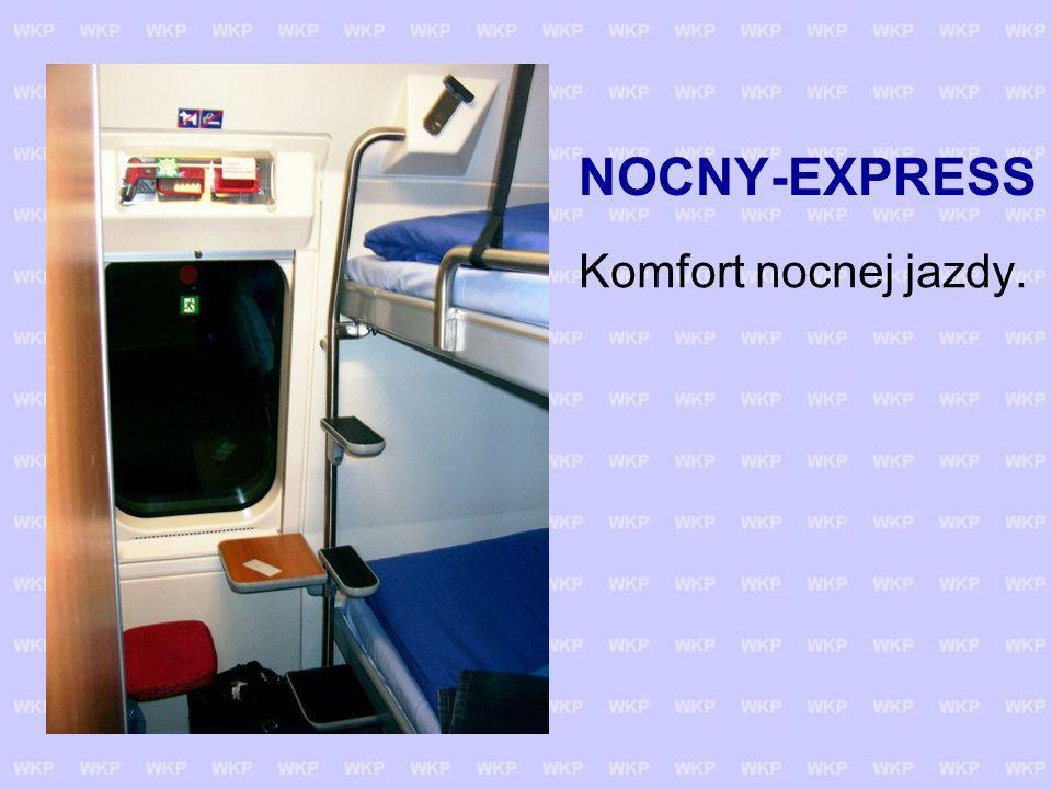 NOCNY-EXPRESS Komfort nocnej jazdy.