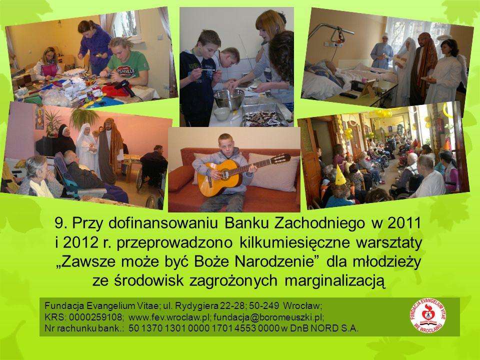 Fundacja Evangelium Vitae; ul.