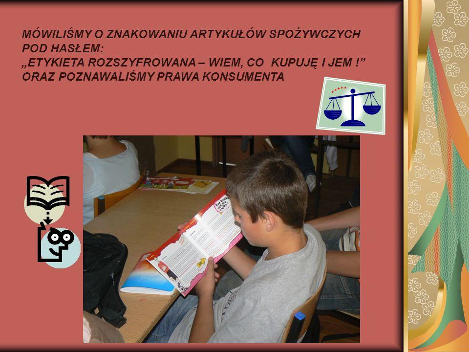 Były też nagrody dla uczniów i podziękowania dla nauczycieli realizujących program, a także słowa uznania za owocną współpracę z Powiatową – w Ostródzie i Wojewódzką Stacją Sanitarno – Epidemiologiczną w Olsztynie.