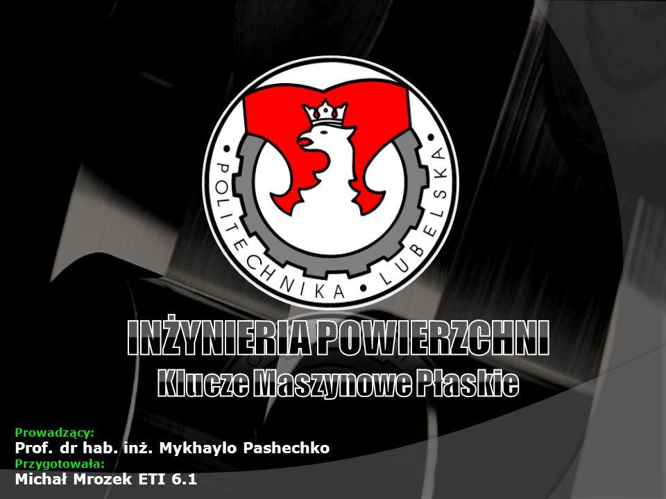 Prowadzący: Prof. dr hab. inż. Mykhaylo Pashechko Przygotowała: Michał Mrozek ETI 6.1