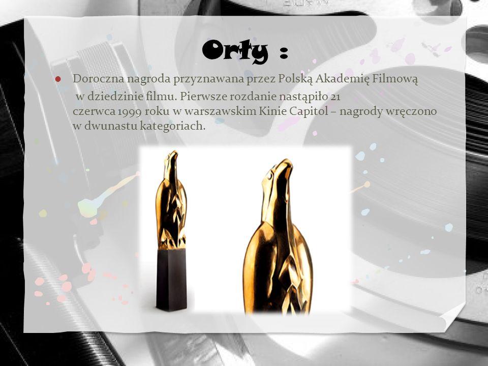 Doroczna nagroda przyznawana przez Polską Akademię Filmową w dziedzinie filmu. Pierwsze rozdanie nastąpiło 21 czerwca 1999 roku w warszawskim Kinie Ca