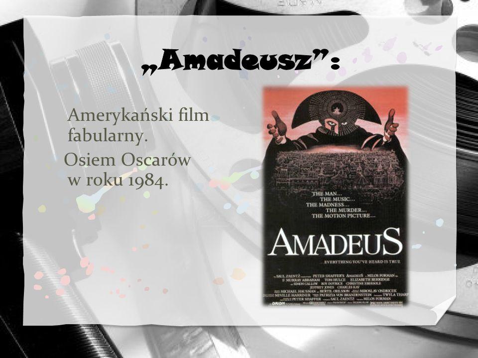 Amerykański film fabularny. Osiem Oscarów w roku 1984.