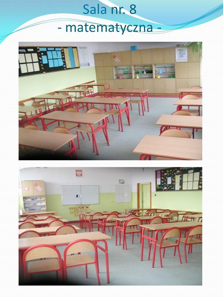 Sala nr. 8 - matematyczna -