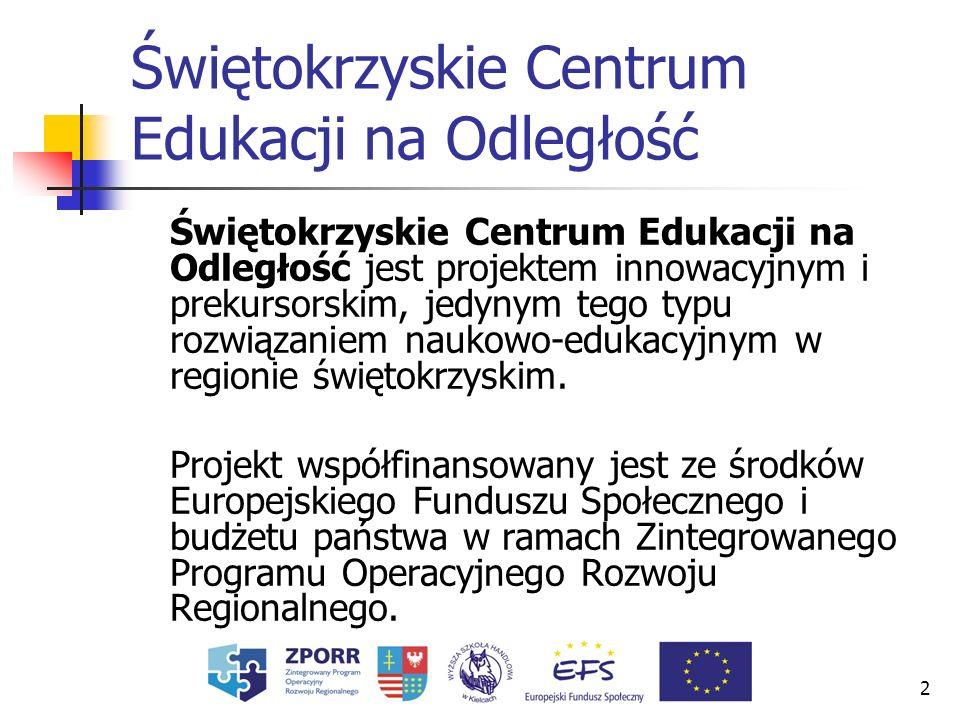 3 Okres realizacji projektu Czas realizacji projektu jest przewidziany na 24 miesiące w okresie od 1 października 2005 roku do 30 września 2007 roku.