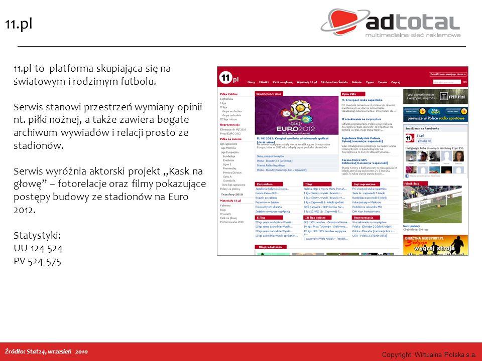 Copyright: Wirtualna Polska s.a.Przepisy.net Źródło: WP Dot, 09.2010 r.