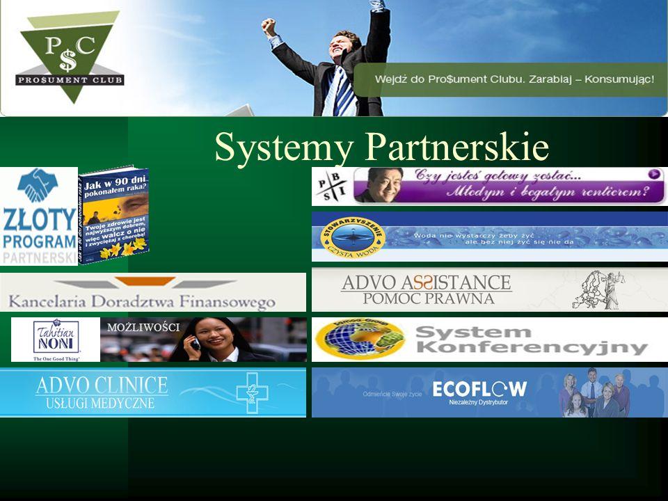 Systemy Partnerskie MOŻLIWOŚCI