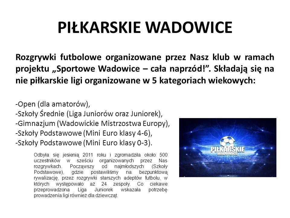 Trio Basket Wadowice Turniej koszykówki trójek organizowany już po raz drugi przez Nasz klub w ramach projektu Sportowe Wadowice – cała naprzód!.