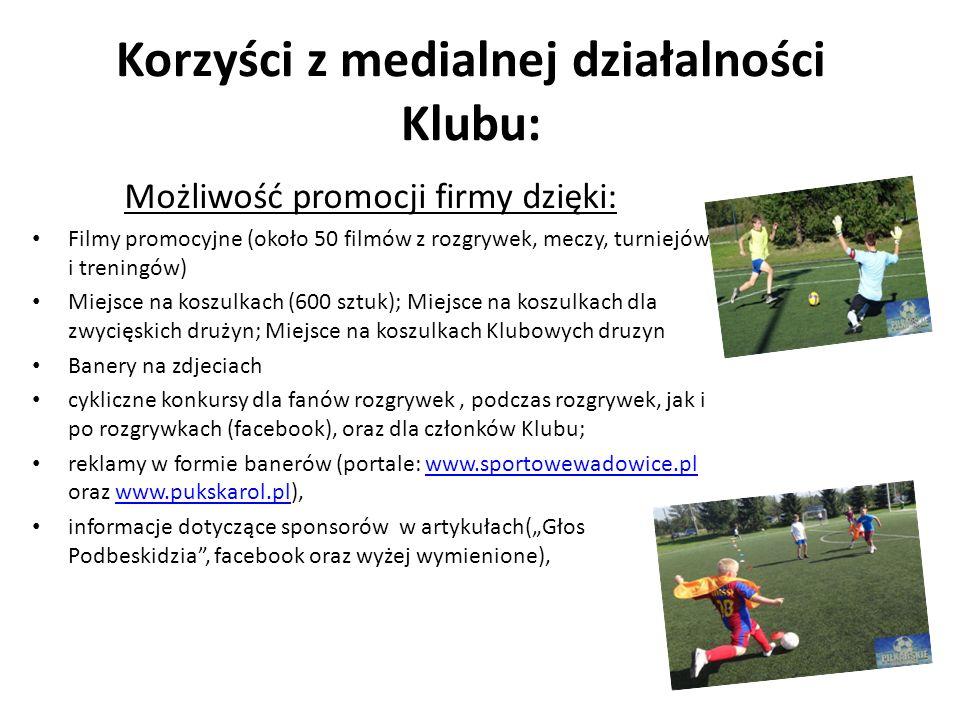 Podsumowanie Piłkarskie Wadowice to cykl rozgrywek, który w okolicznym środowisku sportowym jest pozytywnie kojarzony.