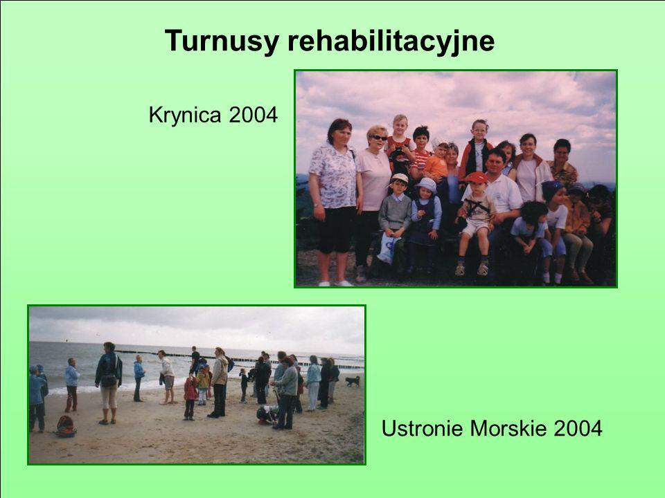 Turnusy rehabilitacyjne Stegna 2002 Rytro 2003
