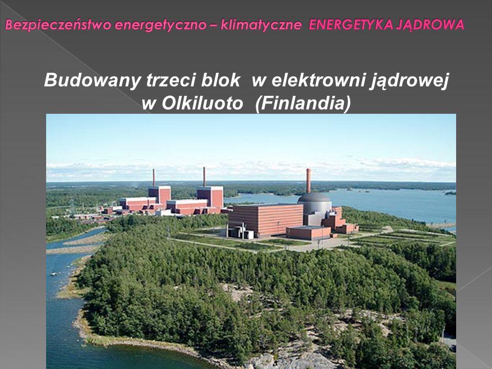 Budowany trzeci blok w elektrowni jądrowej w Olkiluoto (Finlandia)