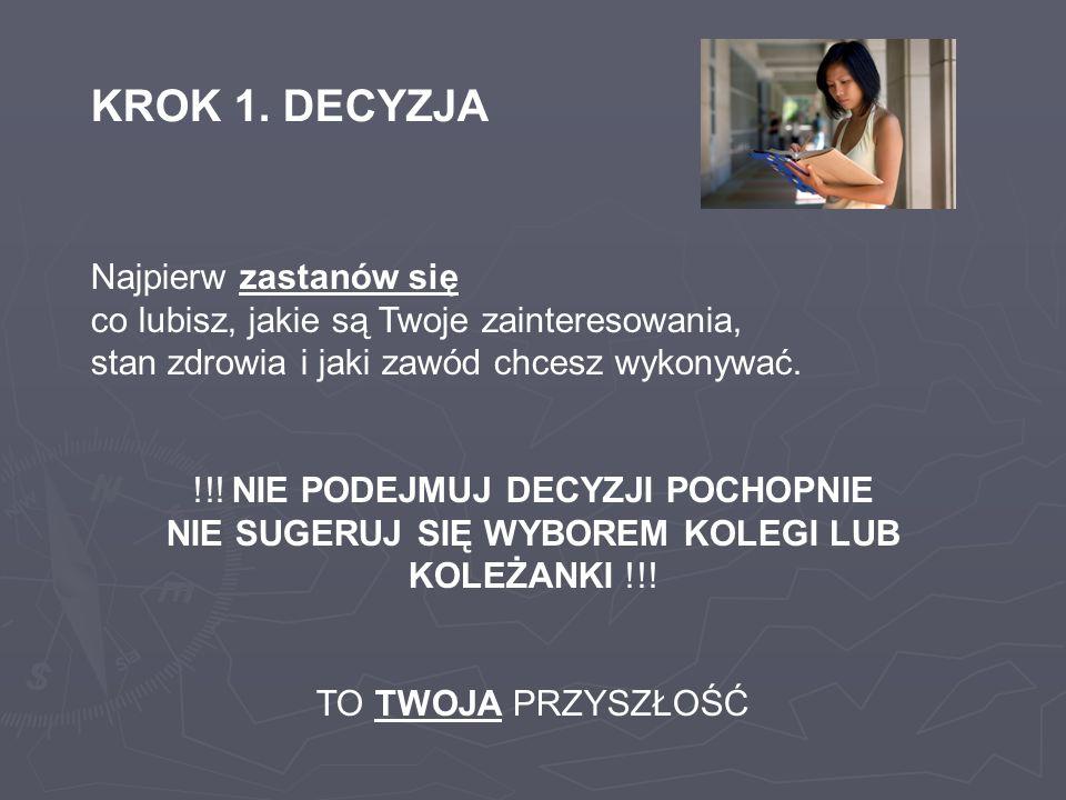KROK 4.REKRUTACJA ELEKTRONICZNA WAŻNE!.