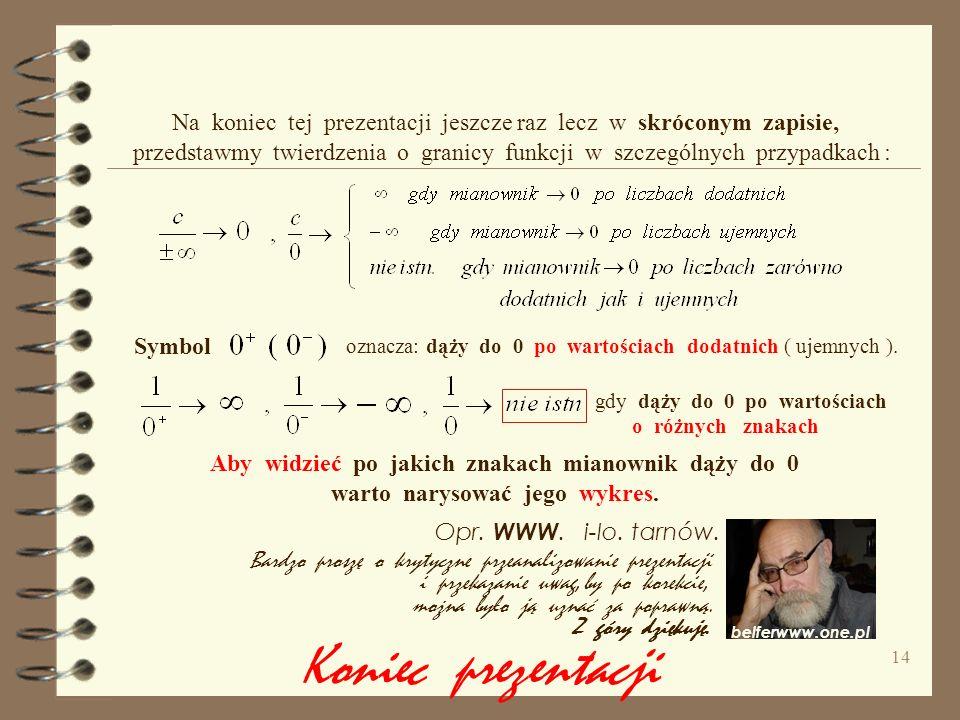13 d ) e ) f ) g ) h ) i ) Wykonanie tych zadań daje dużą szansę, że na poziomie szkoły średniej Zainteresowani matematyką ( uczniowie klas matematycz