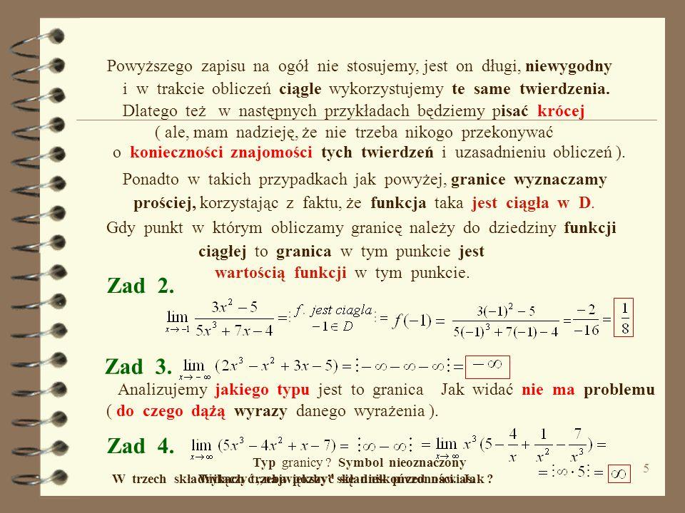 innym razem skrócić rozłożyć na czynniki licznik i mianownik i.t.p. Czasem wystarczy wyłączyć przed nawias, 4 Tw. 5 lub rozszerzyć ułamek ( np. przez