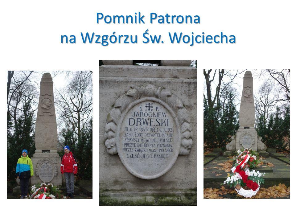 Pomnik Patrona na Wzgórzu Św. Wojciecha