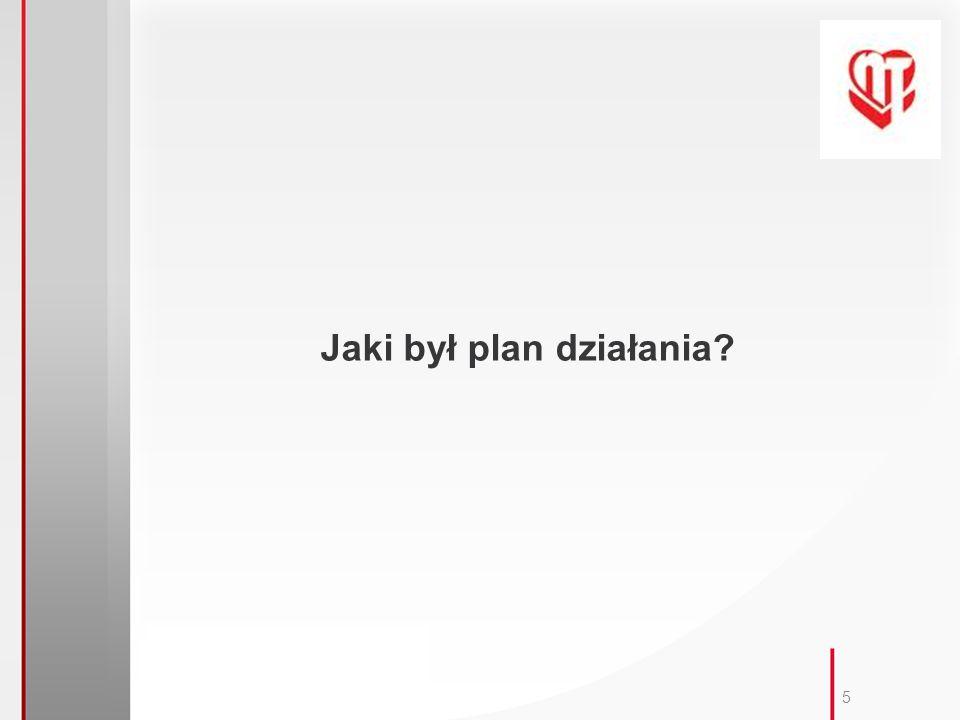 5 Jaki był plan działania?