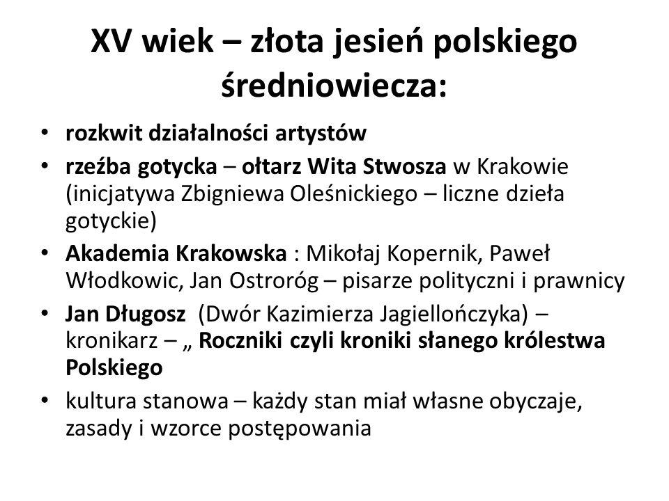 XVI WIEK - ZŁOTY zamek na Wawelu, (arrasy) kaplica zygmuntowska ratusz w Zamościu