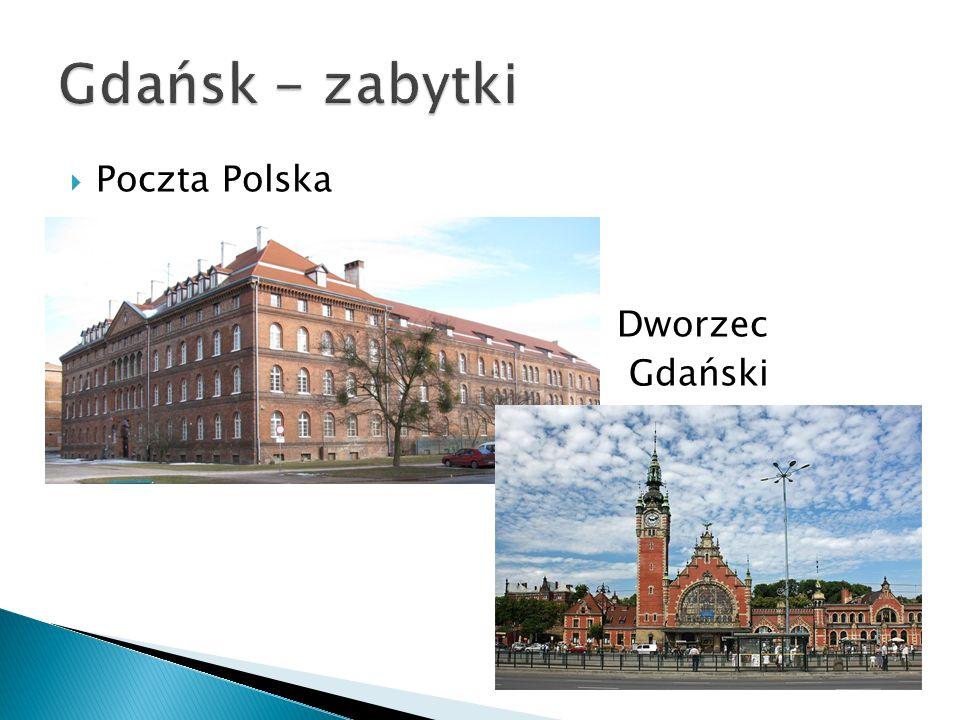 Poczta Polska Dworzec Gdański