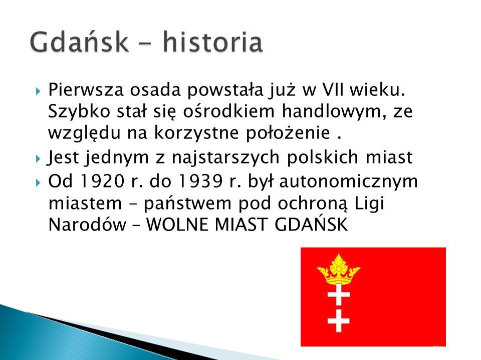 Gdańsk ma 23 km czystych plaż Jest tu także stutrzydiestometrowe molo