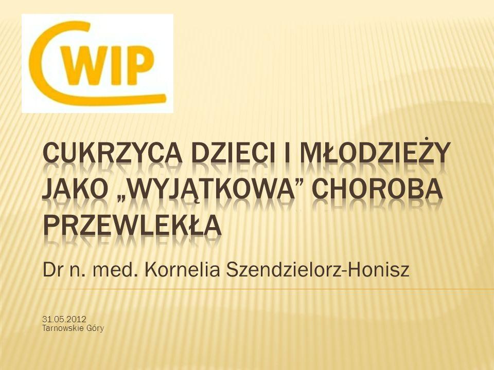 Dr n. med. Kornelia Szendzielorz-Honisz 31.05.2012 Tarnowskie Góry