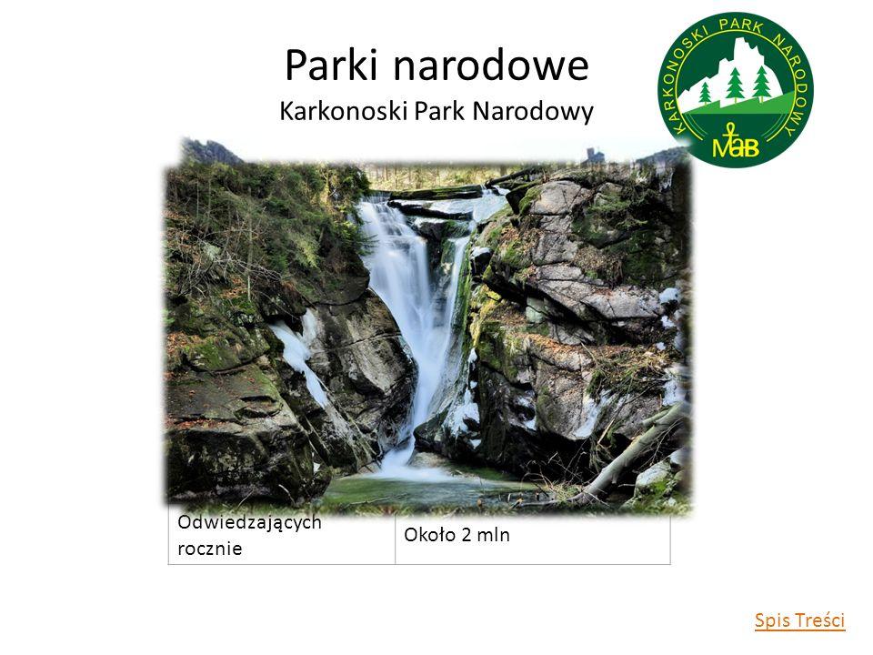 Parki narodowe Karkonoski Park Narodowy Data utworzenia1959 r.