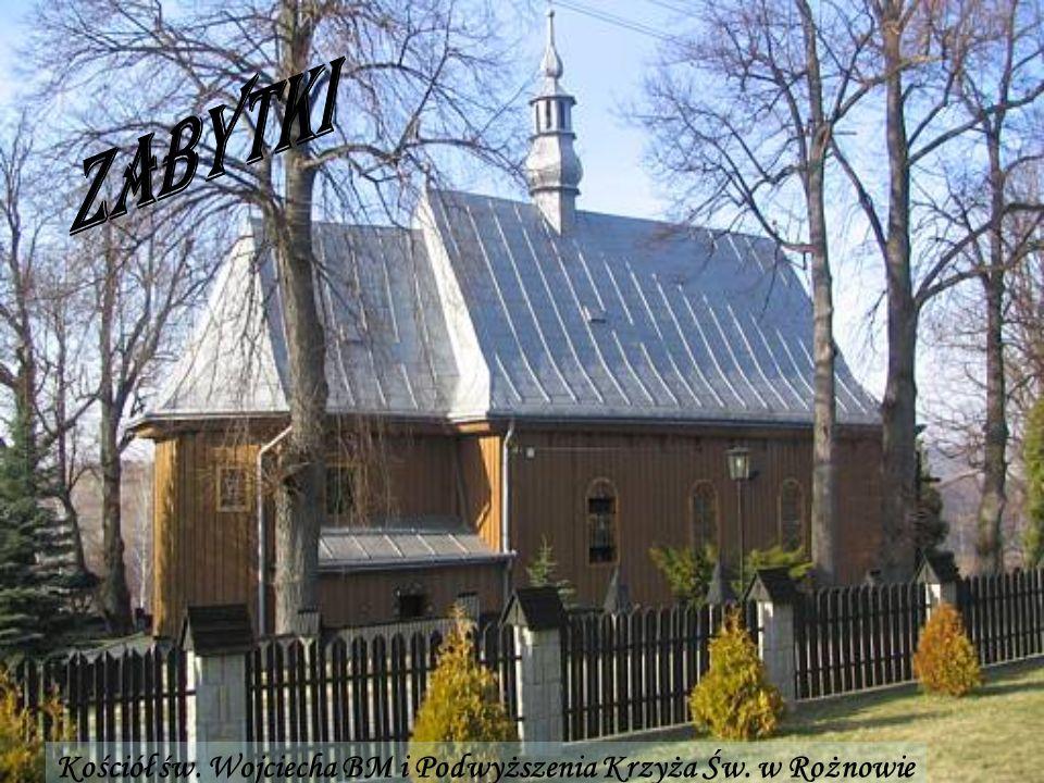Kościół św. Wojciecha BM i Podwyższenia Krzyża Św. w Rożnowie