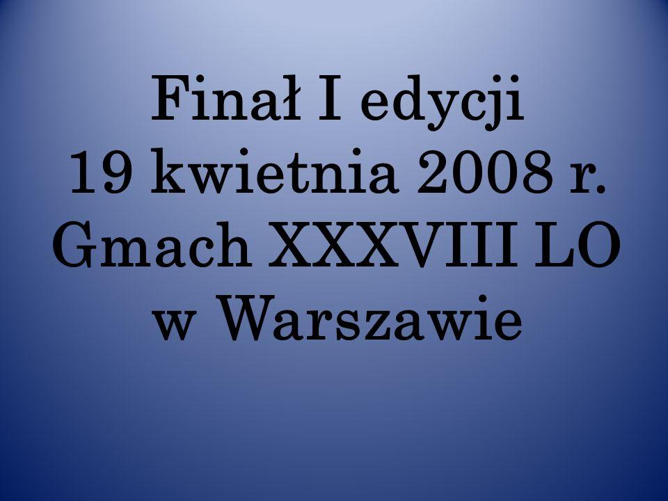 Powitanie uczestników Turnieju przez Przewodniczącego Jury Centralnego Wojciecha Dąbrowskiego