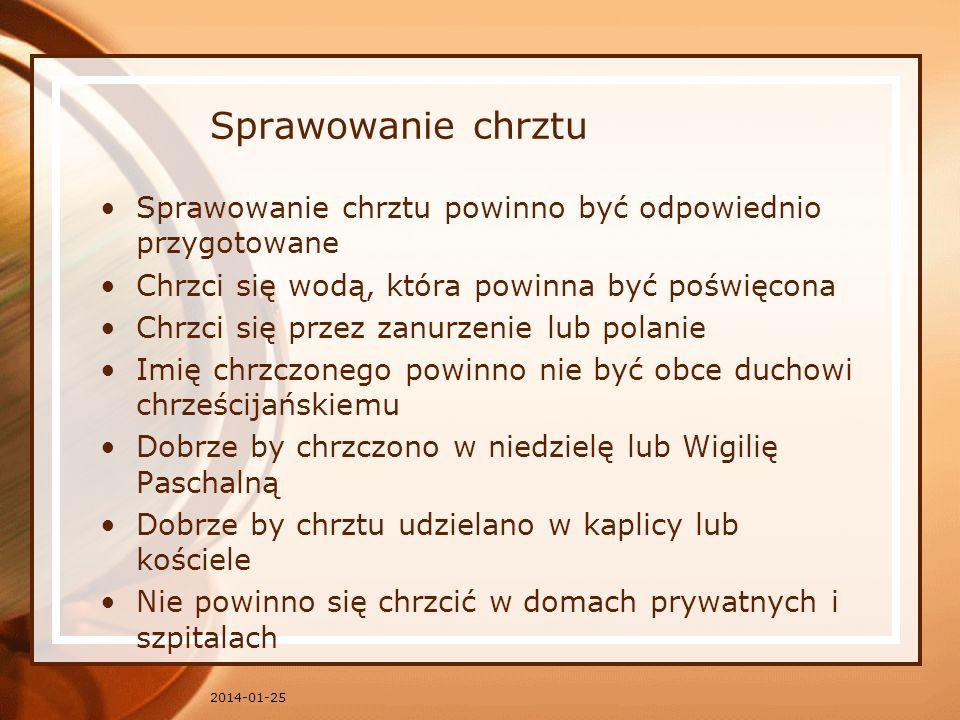 NAJŚWIĘTSZA EUCHARYSTIA Sakramenty w prawie kościelnym 2014-01-25