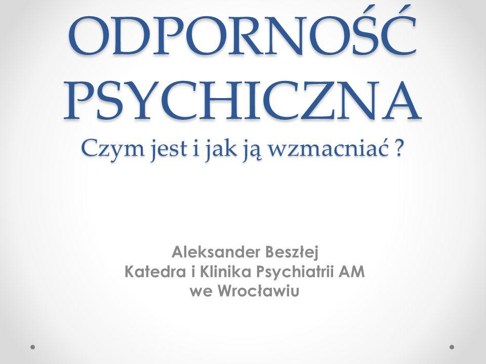 10 sposobów budowania odporności wg American Psychological Association 2010 2.
