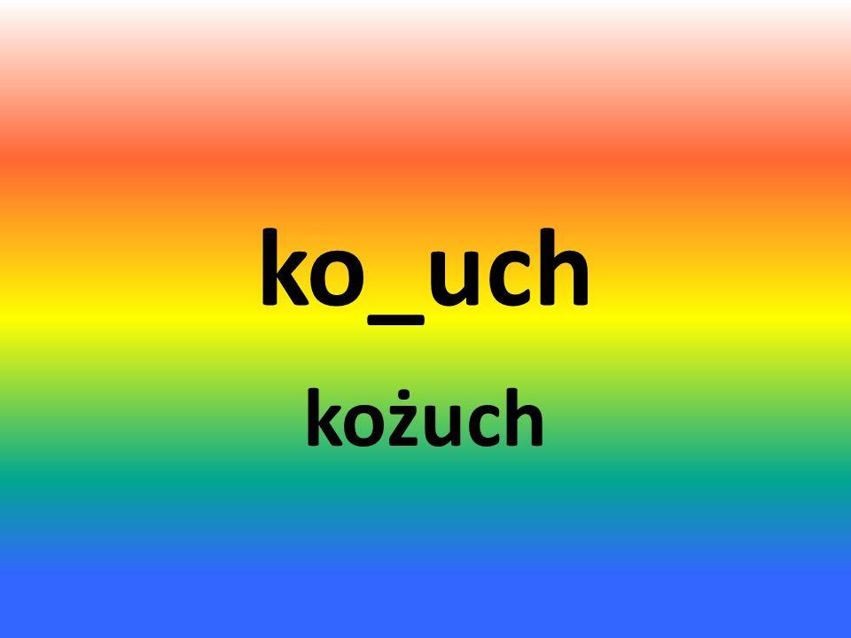 szcze_uja szczeżuja