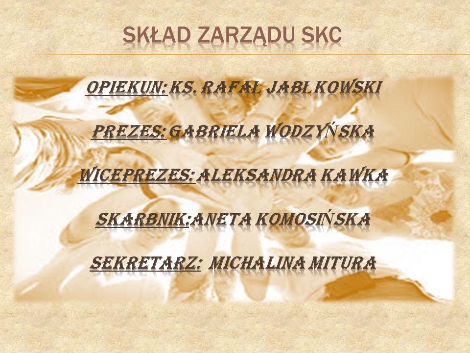 1.Aneta Komosińska 2. Michalina Mitura 3. Mateusz Niezgoda 4.