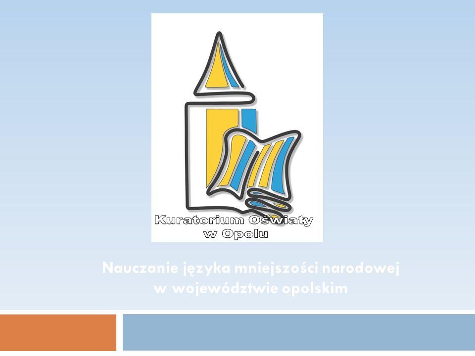 Nauczanie języka mniejszości narodowej w województwie opolskim
