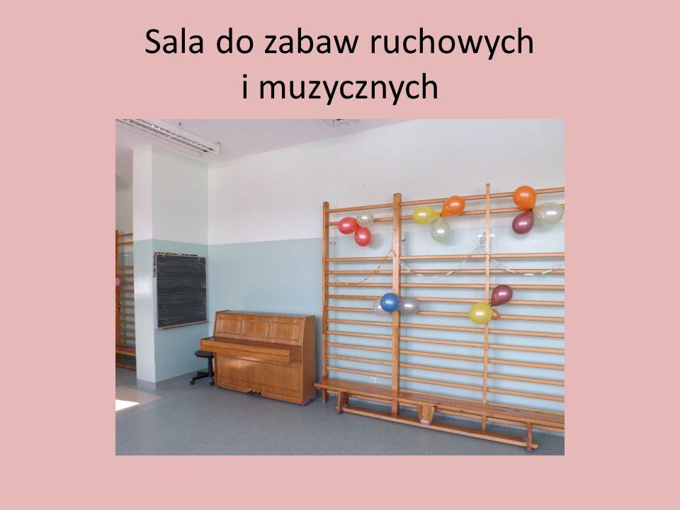 Sala do zabaw ruchowych i muzycznych
