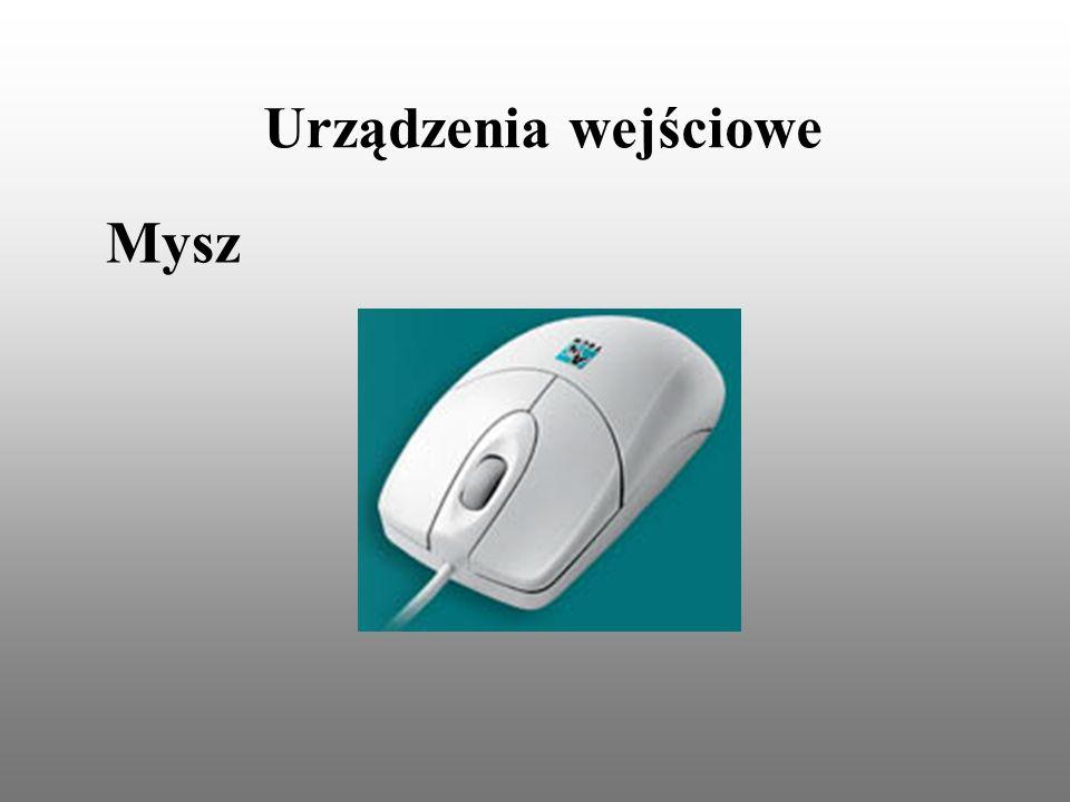 Urządzenia wejściowe Mysz