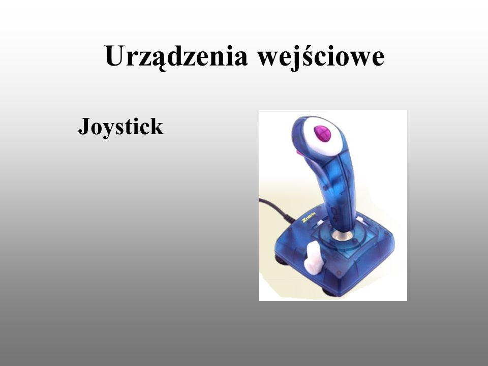 Urządzenia wejściowe Joystick