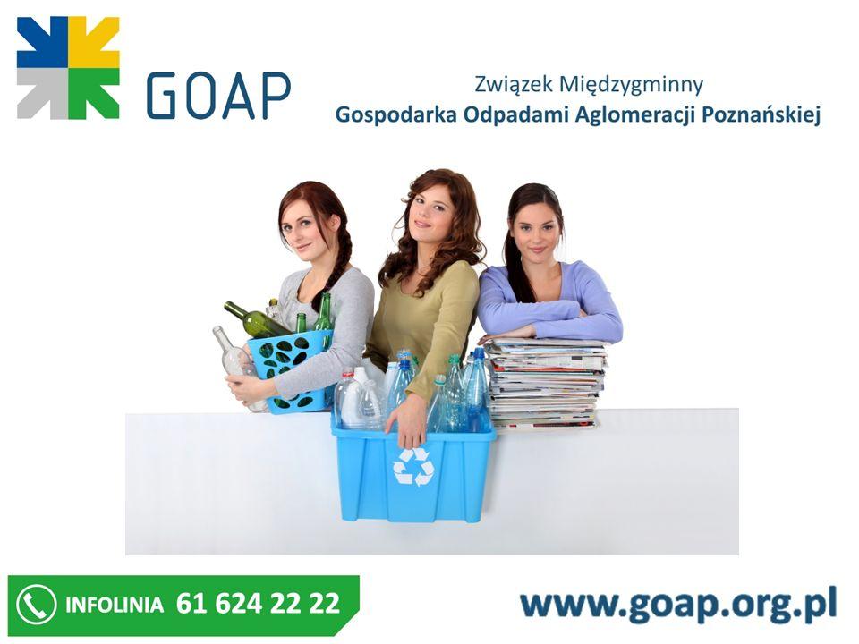 Odpady zielone należy zagospodarowywać w przydomowych kompostownikach gromadzić w sposób uzgodniony z podmiotem odbierającym odpady komunalne przekazywać do PSZOK punktów selektywnego zbierania odpadów Prowadzenie kompostownika wymaga zgłoszenia przez właściciela nieruchomości do Biura ZM GOAP zmiana sposobu zagospodarowania odpadów zielonych również wymaga zgłoszenia