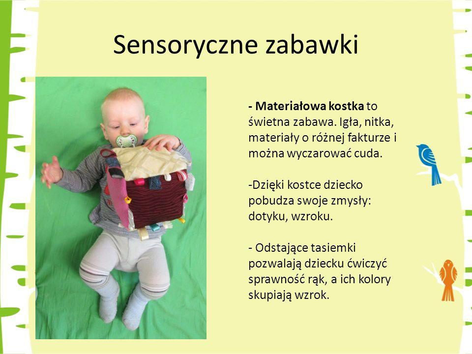 - Walec sensoryczny może być też ciekawą formą zabawy.