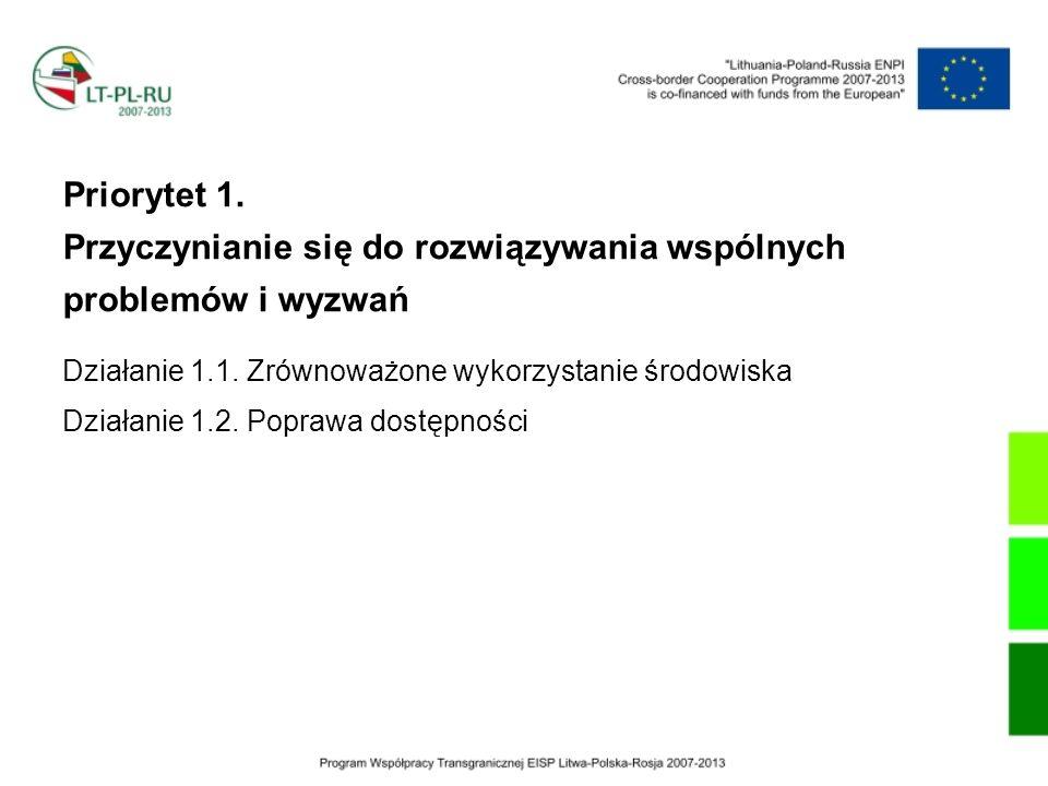 Beneficjent projektu Wojewódzki Szpital Zespolony w Elblągu Partner Miejska Stacja Pogotowia Ratunkowego w Obwodzie Kaliningradzkim