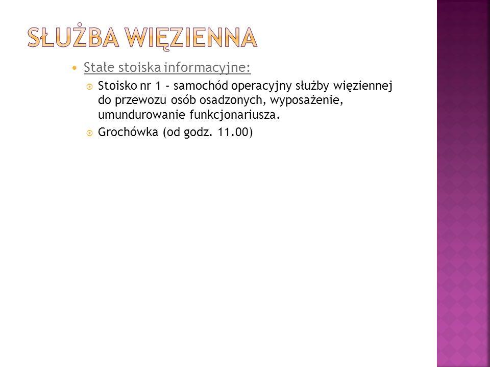 Stoisko nr 1 – WKU w Ostrołęce - stanowisko promujące służbę w Wojsku Polskim.