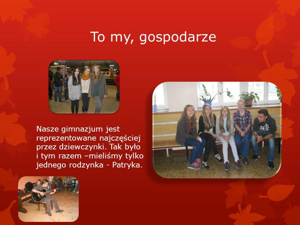 Nasi goście Peter – Vischer – Schule reprezentowało tym razem sześć dziewczynek i ośmiu chłopców.