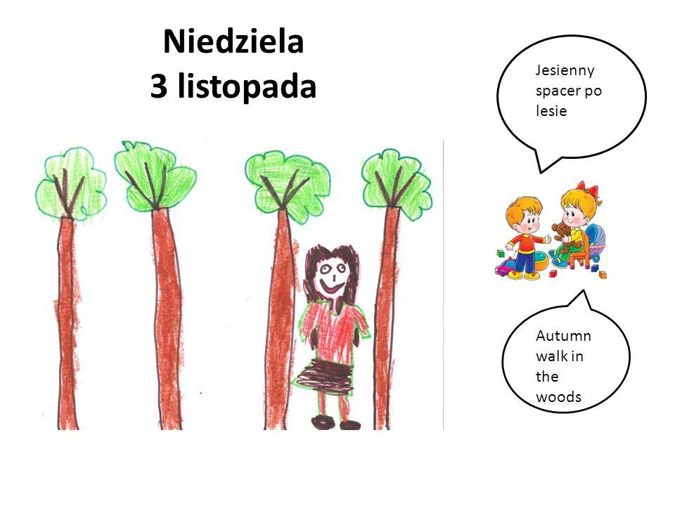 Poniedziałek 4 listopada Przedszkole, Ida i jej kolega Maks. Kindergarten, Ida and her friend Max