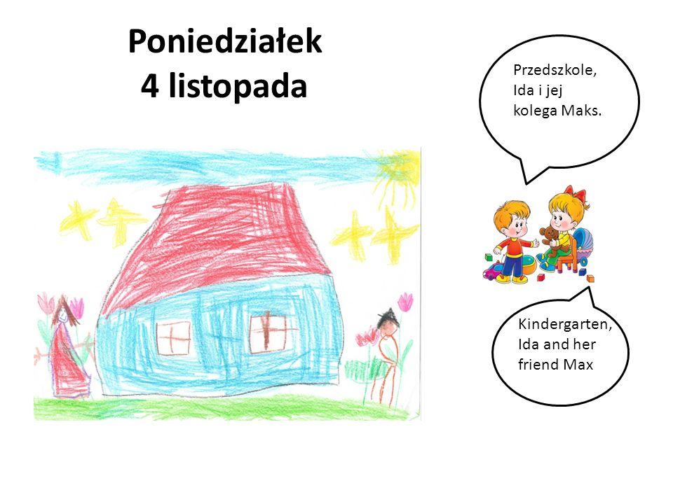 Poniedziałek 25 listopada Amelka i jej siostra Tosia. Amelka and her sister Tosia.