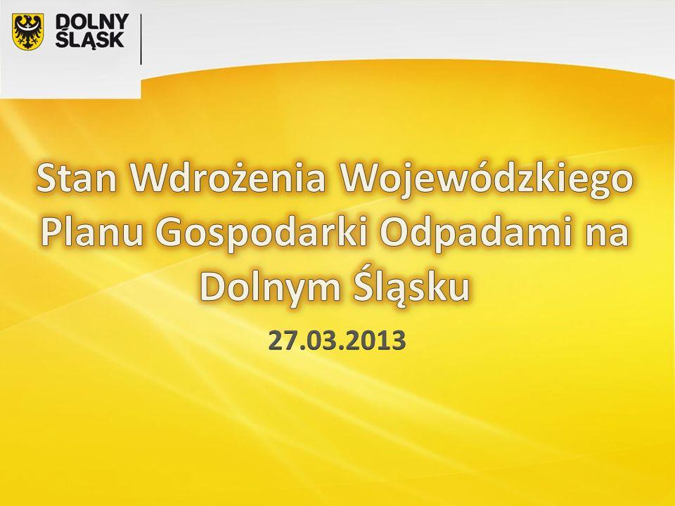 Opinia Ministerstwa Środowiska Funkcjonowanie tak dużej aglomeracji, jak Wrocław bez własnej Regionalnej Instalacji Przetwarzania Odpadów stwarza poważne wątpliwości co do właściwego zabezpieczenia interesów mieszkańców.