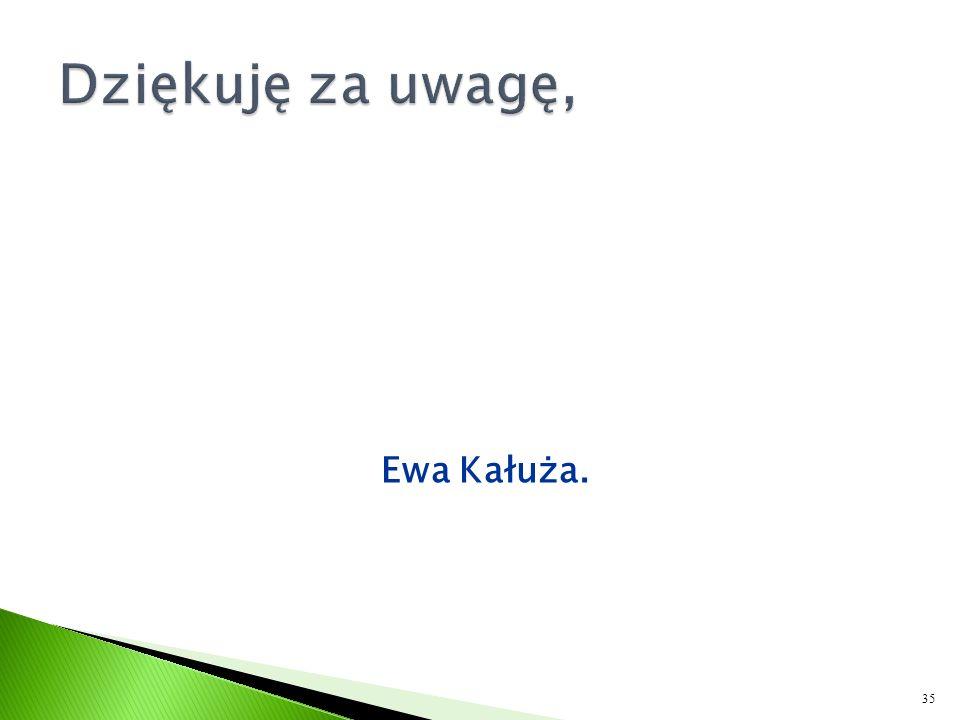 Ewa Kałuża. 35
